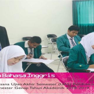 Pelaksanaan Ujian Akhir Semester (UAS) Pendidikan Bahasa Inggris FKIP UIKA